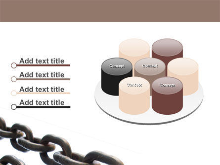 Steel Chains PowerPoint Template Slide 12