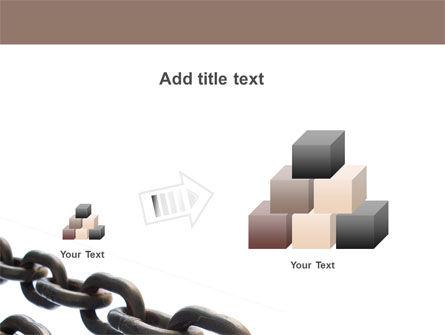 Steel Chains PowerPoint Template Slide 13