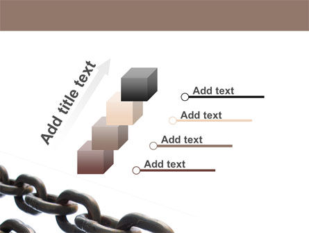 Steel Chains PowerPoint Template Slide 14