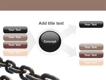 Steel Chains PowerPoint Template Slide 15