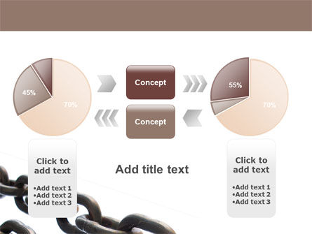 Steel Chains PowerPoint Template Slide 16
