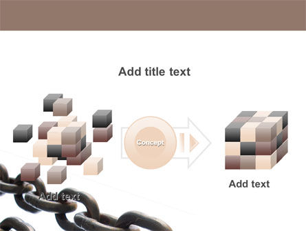 Steel Chains PowerPoint Template Slide 17