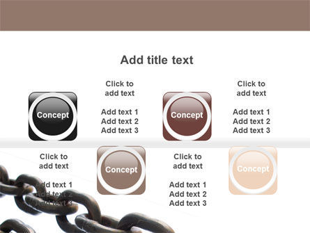 Steel Chains PowerPoint Template Slide 18