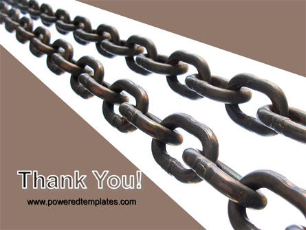 Steel Chains PowerPoint Template Slide 20
