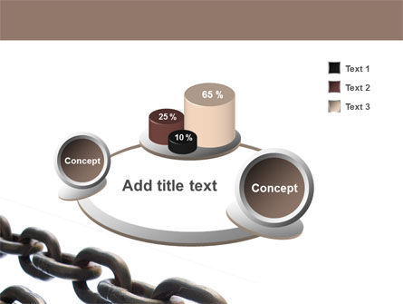 Steel Chains PowerPoint Template Slide 6