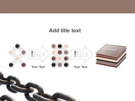 Steel Chains PowerPoint Template Slide 9
