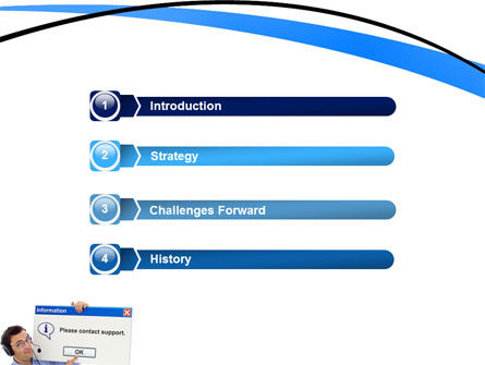 Online Support PowerPoint Template Slide 3