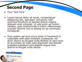 Online Support PowerPoint Template#2