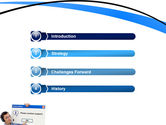 Online Support PowerPoint Template#3