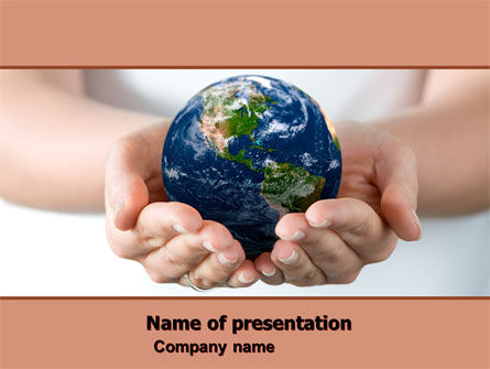 World Access PowerPoint Template, 05898, Global — PoweredTemplate.com