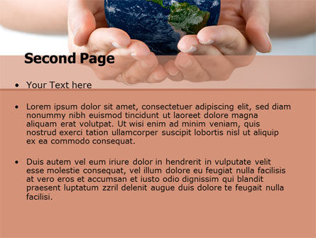 World Access PowerPoint Template, Slide 2, 05898, Global — PoweredTemplate.com
