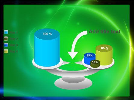 Green Swirls PowerPoint Template Slide 10
