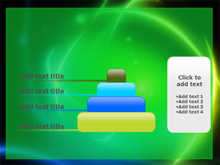 Green Swirls PowerPoint Template Slide 8