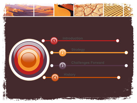 Desert PowerPoint Template, Slide 3, 05901, Nature & Environment — PoweredTemplate.com