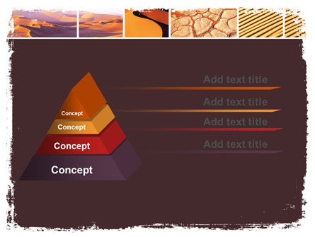 Desert PowerPoint Template, Slide 4, 05901, Nature & Environment — PoweredTemplate.com