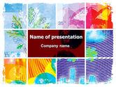 Nature & Environment: 気象コラージュ - PowerPointテンプレート #05902