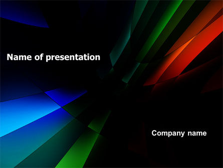 3D Abstract PowerPoint Template, 05904, Abstract/Textures — PoweredTemplate.com