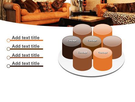Living Room PowerPoint Template Slide 12