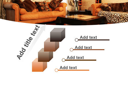 Living Room PowerPoint Template Slide 14