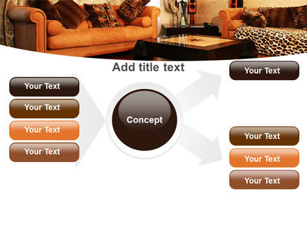 Living Room PowerPoint Template Slide 15