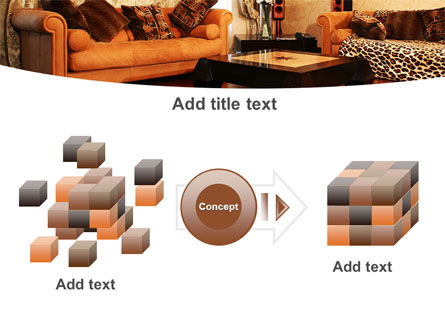 Living Room PowerPoint Template Slide 17