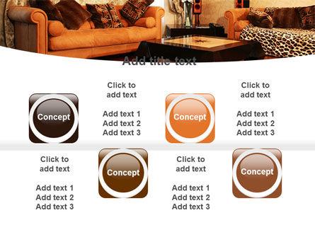 Living Room PowerPoint Template Slide 18