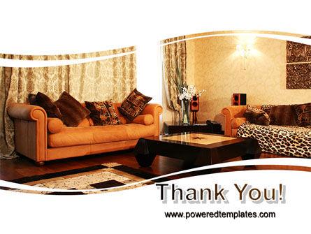 Living Room PowerPoint Template Slide 20