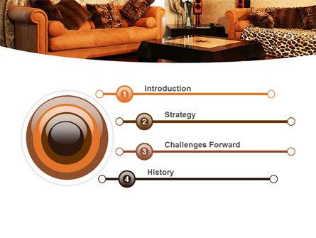 Living Room PowerPoint Template Slide 3