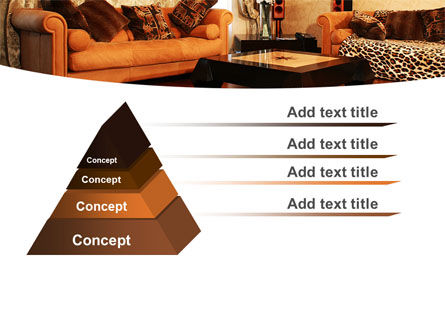 Living Room PowerPoint Template Slide 4