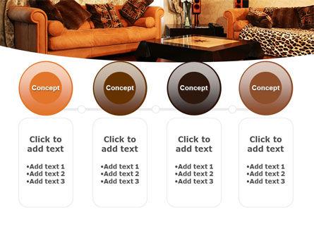 Living Room PowerPoint Template Slide 5