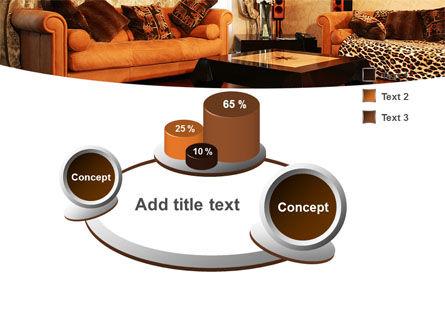 Living Room PowerPoint Template Slide 6