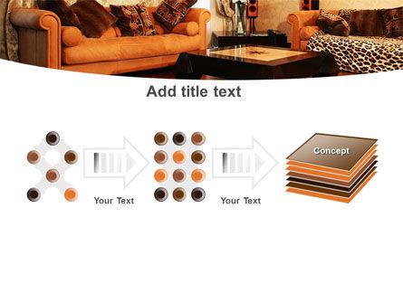 Living Room PowerPoint Template Slide 9