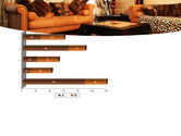 Living Room PowerPoint Template#11