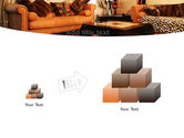 Living Room PowerPoint Template#13
