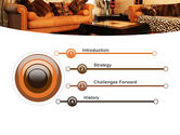 Living Room PowerPoint Template#3