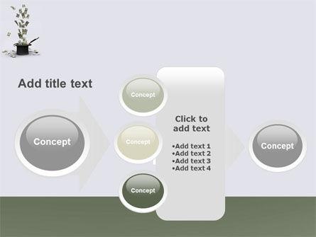 Magic Money PowerPoint Template Slide 17