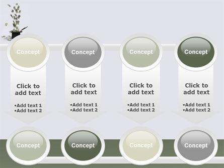 Magic Money PowerPoint Template Slide 18