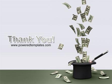 Magic Money PowerPoint Template Slide 20