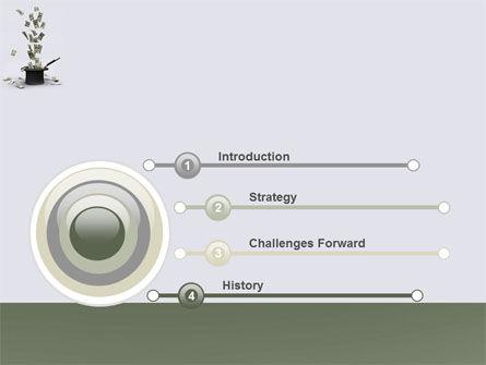 Magic Money PowerPoint Template, Slide 3, 05909, Financial/Accounting — PoweredTemplate.com