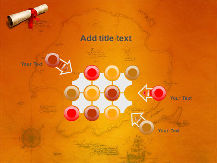 Treasure Map PowerPoint Template Slide 10