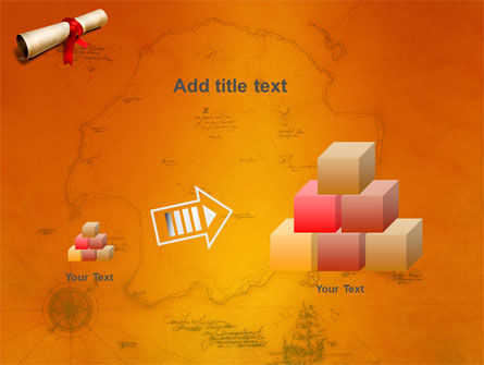 Treasure Map PowerPoint Template Slide 13