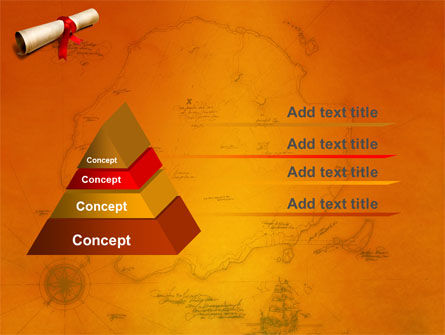 Treasure Map PowerPoint Template, Slide 4, 05910, Careers/Industry — PoweredTemplate.com