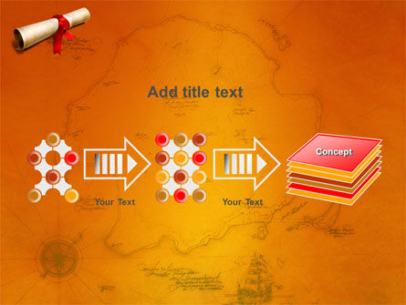 Treasure Map PowerPoint Template Slide 9