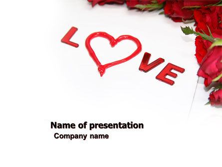 Love PowerPoint Template, 05912, Holiday/Special Occasion — PoweredTemplate.com