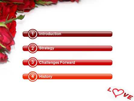 Love PowerPoint Template, Slide 3, 05912, Holiday/Special Occasion — PoweredTemplate.com