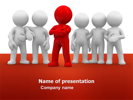 Business Concepts: Team Leader PowerPoint Template #05914