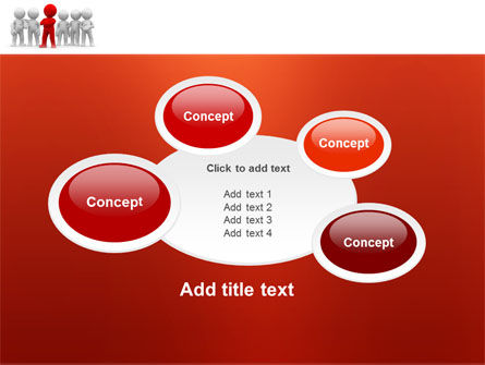 Team Leader PowerPoint Template Slide 16