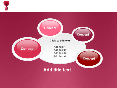 Fuchsia Heart PowerPoint Template Slide 16
