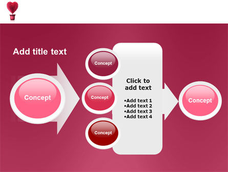 Fuchsia Heart PowerPoint Template Slide 17