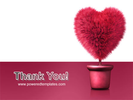 Fuchsia Heart PowerPoint Template Slide 20